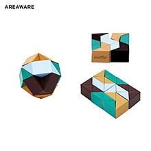 AW-ET6767BG-Areaware Snake Block Puzzle