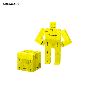 AW-ET4111YL - Areaware Cubebot Micro