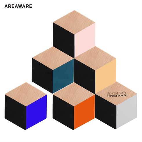 AW-CO7111MC - Areaware Table Tiles Coasters
