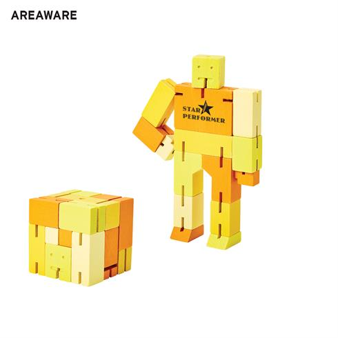 AW-ET1115YL - Areaware Capsule Cubebot
