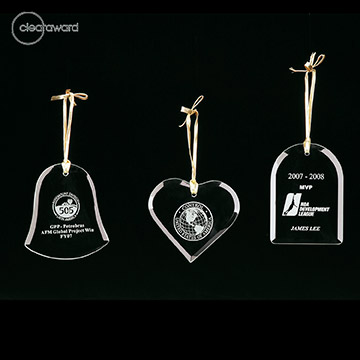 CA-D415H - Clearaward Ornament