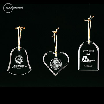 CA-D415W - Clearaward Ornament