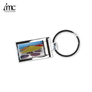 IMC-K3008 - Color Me Square Keychain
