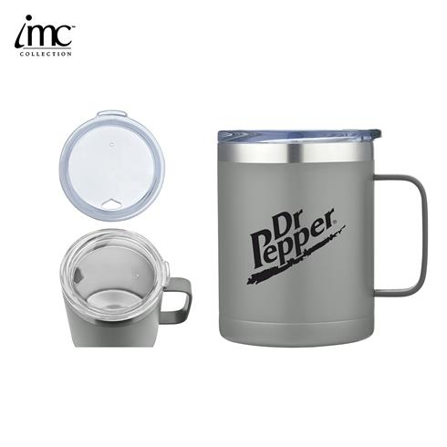 IMC-TM9985GY - 14 oz Stainless Steel Camping Mug