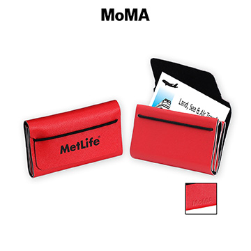 M-B0712R - MoMA Ribbon Card Case