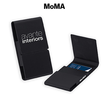M-B87857B - MoMA Magnetic Card Case