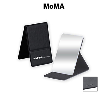 M-M030B - MoMA Stainless Steel Mirror Compact