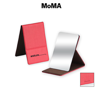 M-M030R - MoMA Stainless Steel Mirror Compact