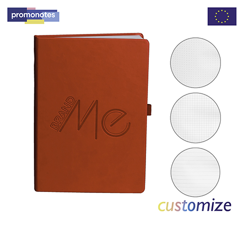 PN-N9268 - Red PU Cover Journal