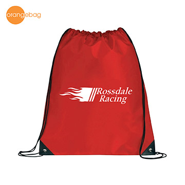 TT-9258R - 210D Drawstring Backpack
