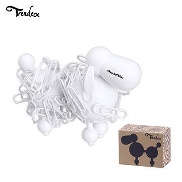 TX-PC100WPH - Trendex Poodle Paperclip Holder