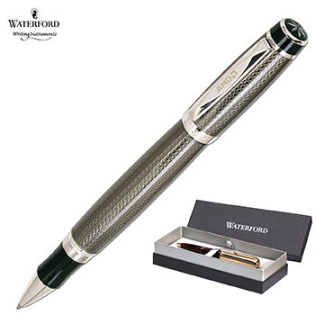 WF453GBK - Waterford Writing Instruments Kilbarry Capped Guilloche
