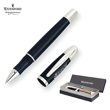 WF553BLK - Waterford Writing Instruments Pallas Rollerball