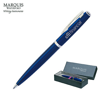 WM752BLU - Marquis by Waterford Writing Instruments Claria