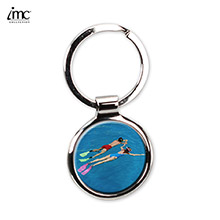Color Me Round keychain