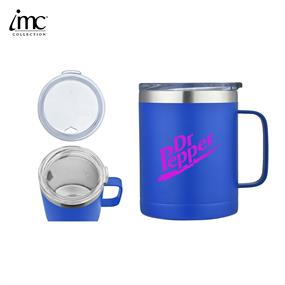 IMC-TM9985BL-14 oz Stainless Steel Camping Mug