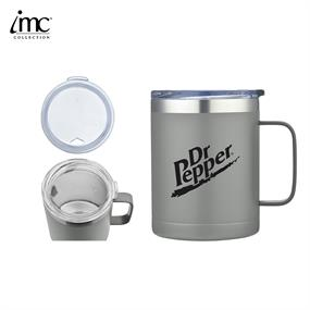 IMC-TM9985GY-14 oz Stainless Steel Camping Mug