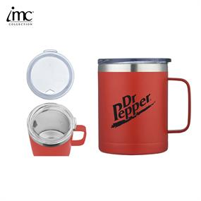 IMC-TM9985R-14 oz Stainless Steel Camping Mug