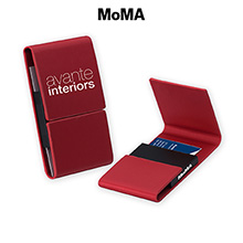 M-B87857R-MoMA Magnetic Card Case