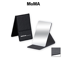 MoMA Stainless Steel Mirror Compact
