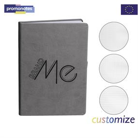 Grey PU Cover Journal