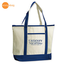 TT-7516NV-Orangebag Beach Goer Boat Tote