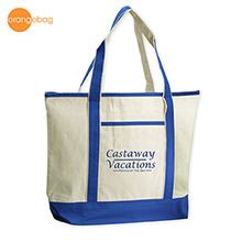 TT-7516RB-Orangebag Beach Goer Boat Tote