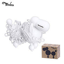 TX-PC100WPH-Trendex Poodle Paperclip Holder